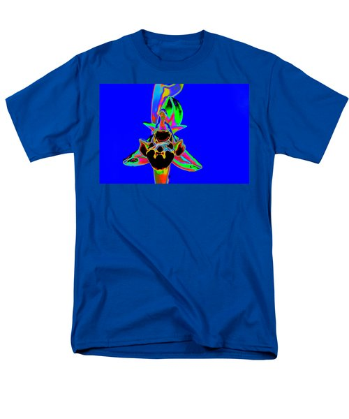 Blue Bee Orchid Men's T-Shirt  (Regular Fit) by Richard Patmore
