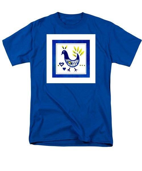 Blue Bird No1 Men's T-Shirt  (Regular Fit)