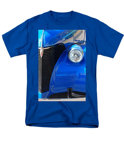 Blue Chevy Men's T-Shirt  (Regular Fit) by Donna Bentley