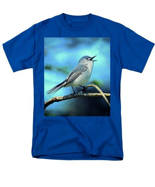 Blue-gray Gnatcatcher Men's T-Shirt  (Regular Fit)
