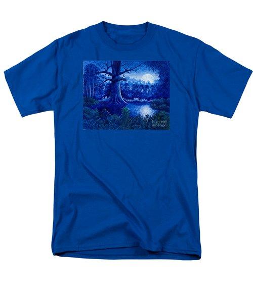 Blue Moon Men's T-Shirt  (Regular Fit) by Michael Frank