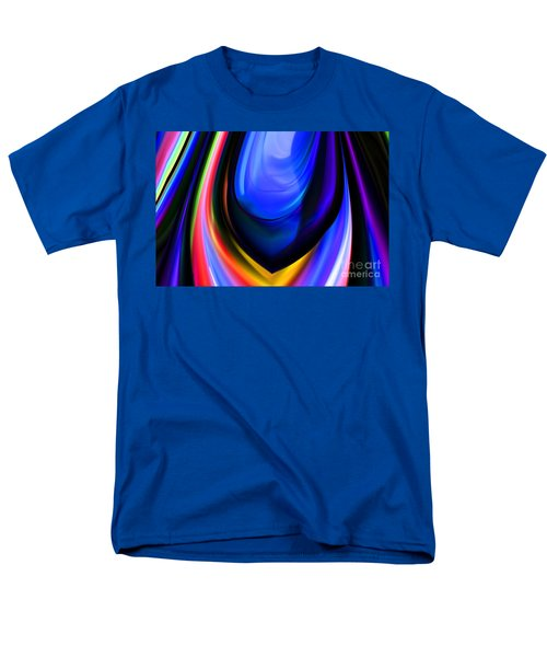Blue Orb Men's T-Shirt  (Regular Fit) by Elaine Hunter