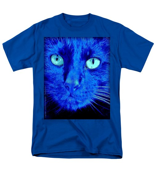 Blue Shadows Men's T-Shirt  (Regular Fit) by Al Fritz