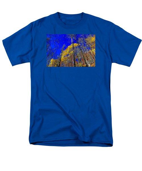 Blue Sky In Fall Men's T-Shirt  (Regular Fit) by Paul Mashburn