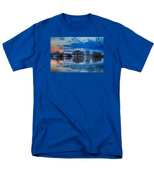 Blue Sky Morning Men's T-Shirt  (Regular Fit) by Lynn Hopwood