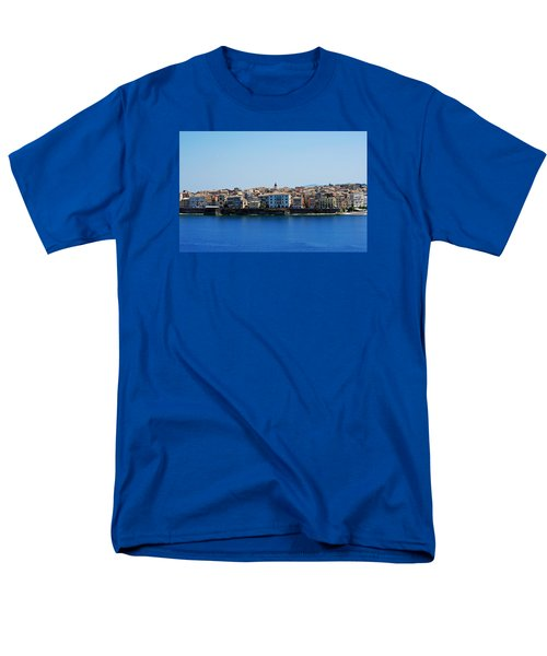 Men's T-Shirt  (Regular Fit) featuring the photograph Blue Waters Of Corfu by Robert Moss