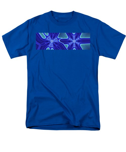 Men's T-Shirt  (Regular Fit) featuring the digital art Blued by Ron Bissett
