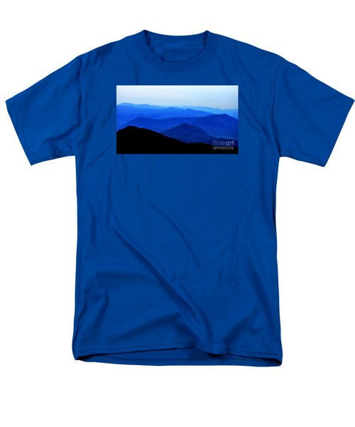 Blueridge Mountains - Parkway View Men's T-Shirt  (Regular Fit) by Scott Cameron