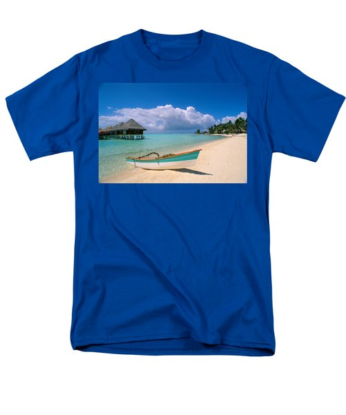 Bora Bora, Hotel Moana Men's T-Shirt  (Regular Fit) by Greg Vaughn - Printscapes