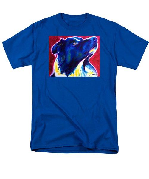 Border Collie - Bright Future Men's T-Shirt  (Regular Fit)