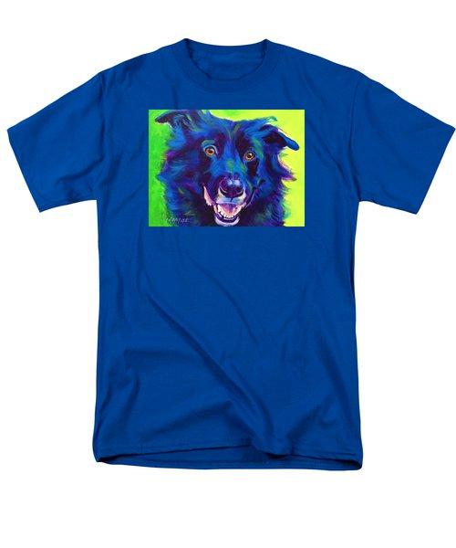 Border Collie - Viktor Men's T-Shirt  (Regular Fit)
