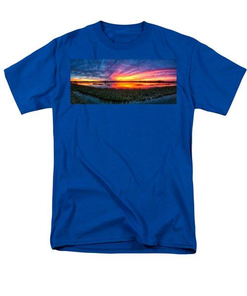 Bosque Sunrise Men's T-Shirt  (Regular Fit)