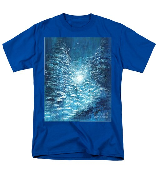 Men's T-Shirt  (Regular Fit) featuring the painting Brite Nite by Holly Carmichael