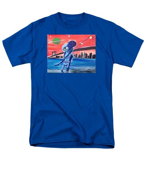 Brooklyn Play Date Men's T-Shirt  (Regular Fit)