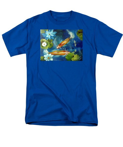Men's T-Shirt  (Regular Fit) featuring the painting Bubble Maker by Carol Sweetwood