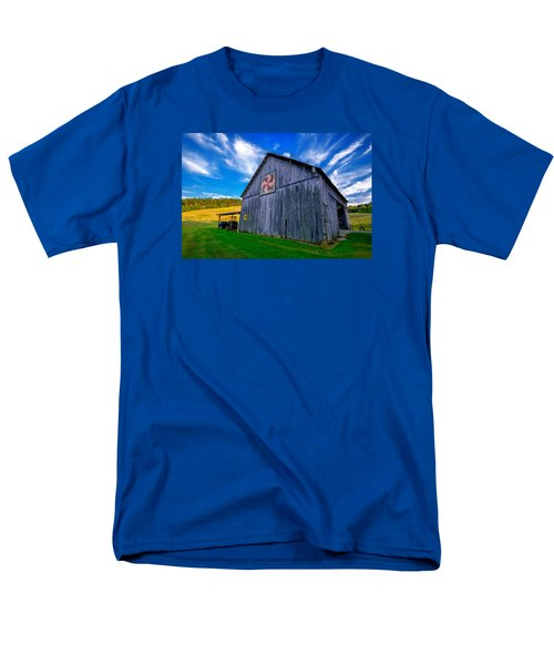 Buckeye Barn 2 Men's T-Shirt  (Regular Fit) by Brian Stevens