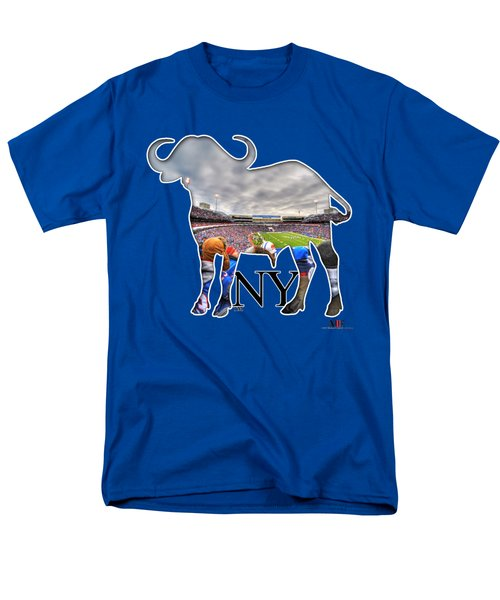 Buffalo Ny Bills Game Men's T-Shirt  (Regular Fit) by Michael Frank Jr