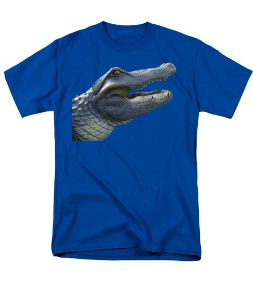 Bull Gator Portrait Transparent For T Shirts Men's T-Shirt  (Regular Fit)
