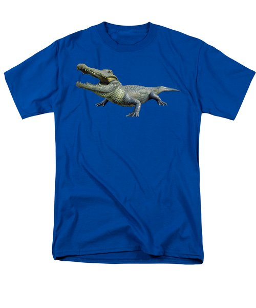 Bull Gator Transparent For T Shirts Men's T-Shirt  (Regular Fit)