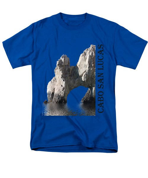 Cabo San Lucas Archway Men's T-Shirt  (Regular Fit) by Shane Bechler