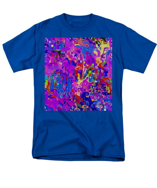 Checkers Men's T-Shirt  (Regular Fit) by Alika Kumar