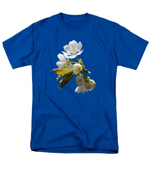Cherry Blossoms Men's T-Shirt  (Regular Fit) by Christina Rollo