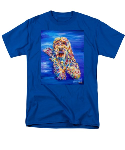 Men's T-Shirt  (Regular Fit) featuring the painting Chloe by AnnaJo Vahle