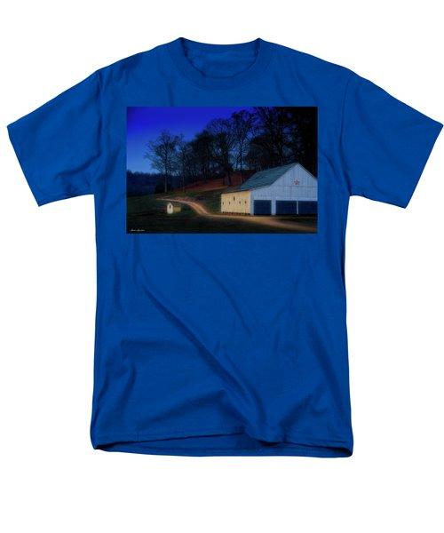 Christmas On The Farm Men's T-Shirt  (Regular Fit) by Glenn Gemmell
