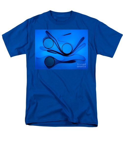 Men's T-Shirt  (Regular Fit) featuring the photograph Circles And Shadows by Trena Mara