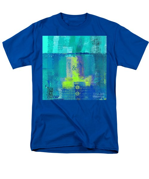 Men's T-Shirt  (Regular Fit) featuring the digital art Classico - S03c26 by Variance Collections