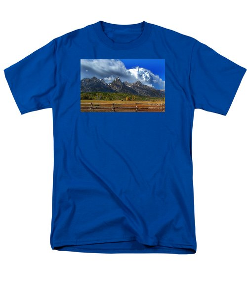 Men's T-Shirt  (Regular Fit) featuring the photograph Clouds Rising by Diane E Berry