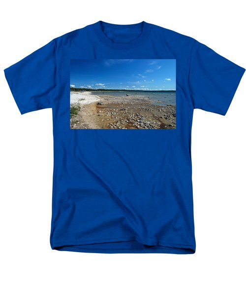 Coastline Of Lake Michigan  Near Petoskey State Park - Little Traverse Bay Men's T-Shirt  (Regular Fit)