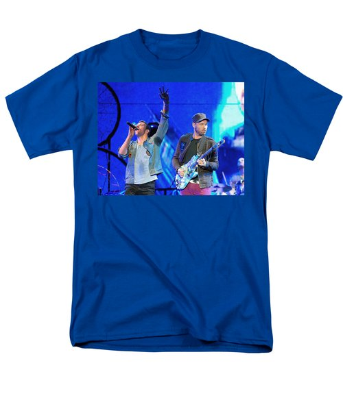 Coldplay6 Men's T-Shirt  (Regular Fit) by Rafa Rivas