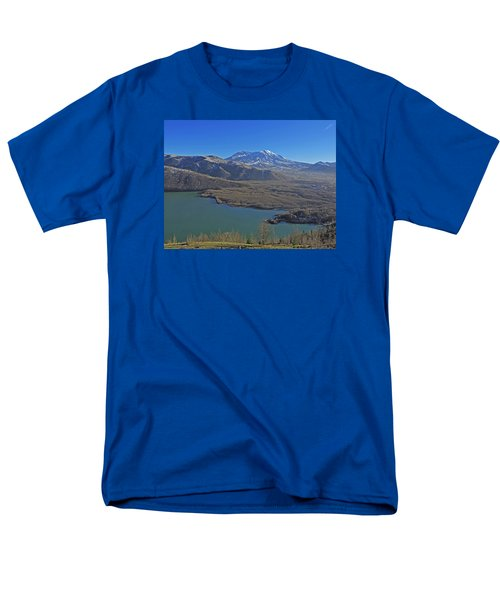 Men's T-Shirt  (Regular Fit) featuring the photograph Coldwater Lake by Jack Moskovita