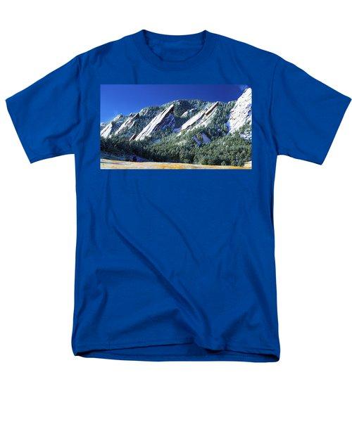 All Fivecolorado Flatirons Men's T-Shirt  (Regular Fit)