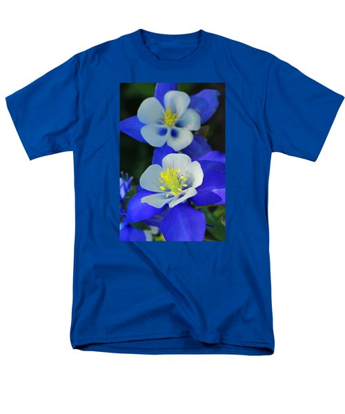 Columbine Day Men's T-Shirt  (Regular Fit) by Iryna Goodall
