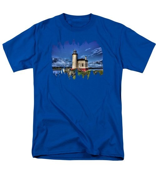 Coquille River Lighthouse Men's T-Shirt  (Regular Fit)