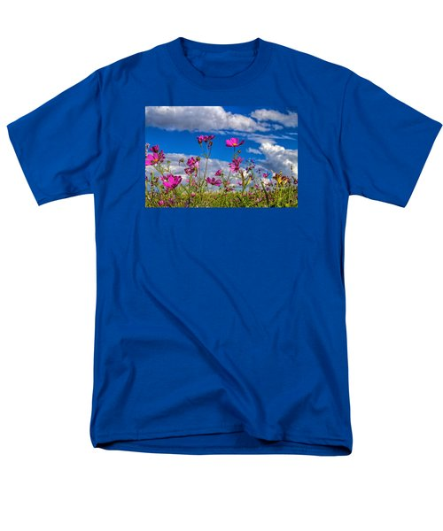 Cosmos Sky Men's T-Shirt  (Regular Fit) by Alana Thrower