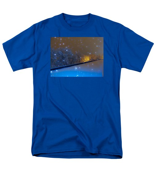 Men's T-Shirt  (Regular Fit) featuring the photograph Crystal Falls by Glenn Feron