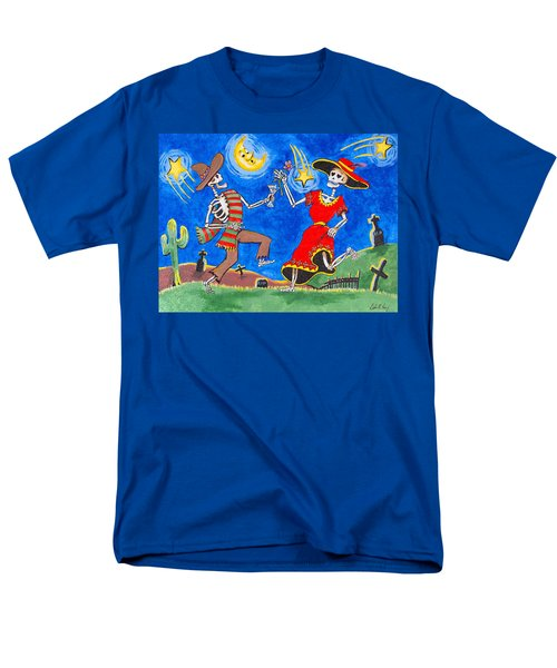 Dance Of The Dead Men's T-Shirt  (Regular Fit) by Dale Loos Jr