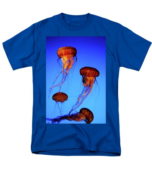 Men's T-Shirt  (Regular Fit) featuring the photograph Dancing Jellyfish by Anthony Jones