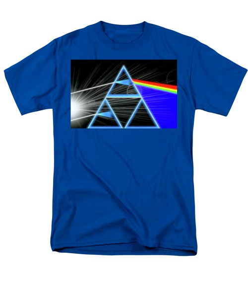 Men's T-Shirt  (Regular Fit) featuring the digital art Dark Side Of The Moon by Dan Sproul