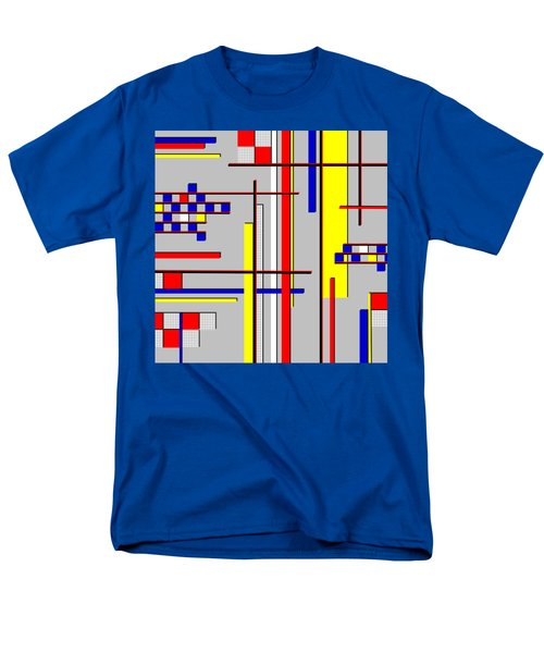 De Stijl Love Men's T-Shirt  (Regular Fit) by Tara Hutton