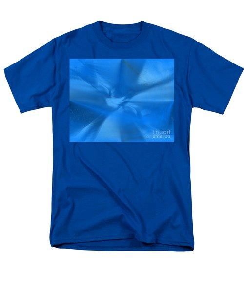 Deep Blue Men's T-Shirt  (Regular Fit) by Yul Olaivar