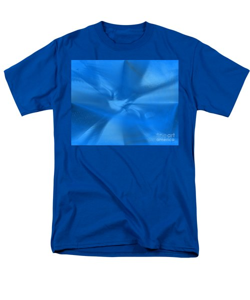 Deep Blue Men's T-Shirt  (Regular Fit)