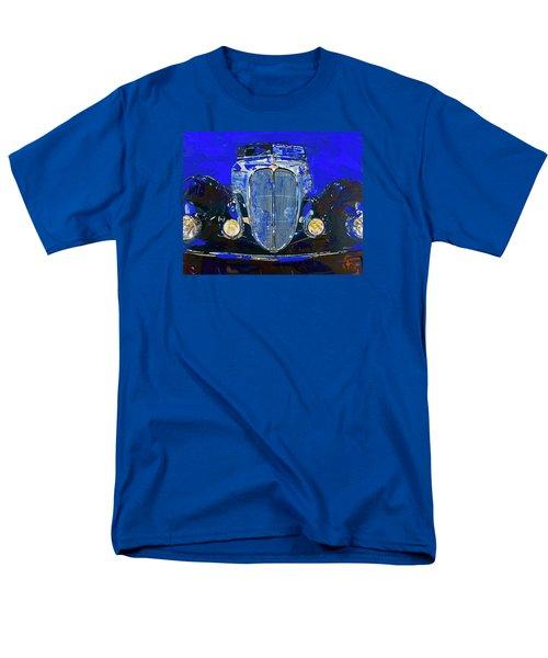 Delahaye Vintage Car Blue Men's T-Shirt  (Regular Fit)