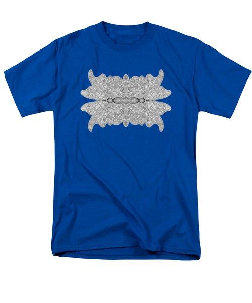 Digital Crochet Men's T-Shirt  (Regular Fit) by Linda Phelps