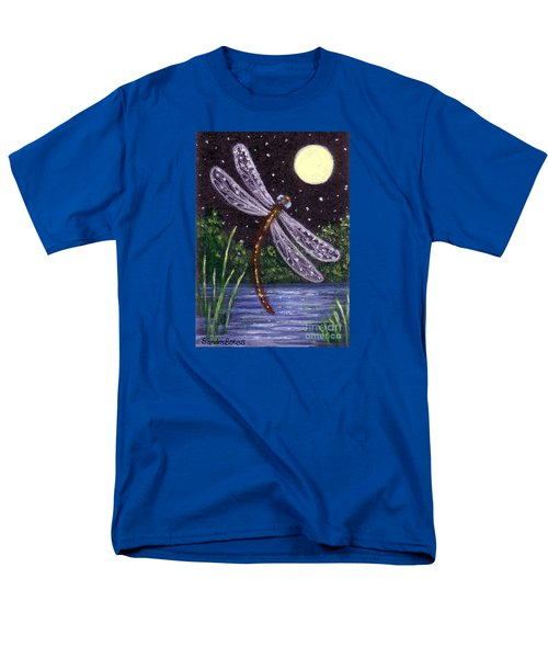 Dragonfly Dreaming Men's T-Shirt  (Regular Fit) by Sandra Estes