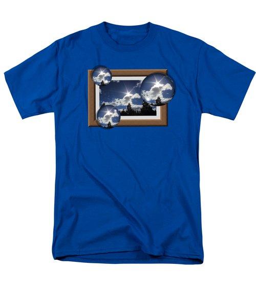 Men's T-Shirt  (Regular Fit) featuring the photograph Drifting Away by Shane Bechler