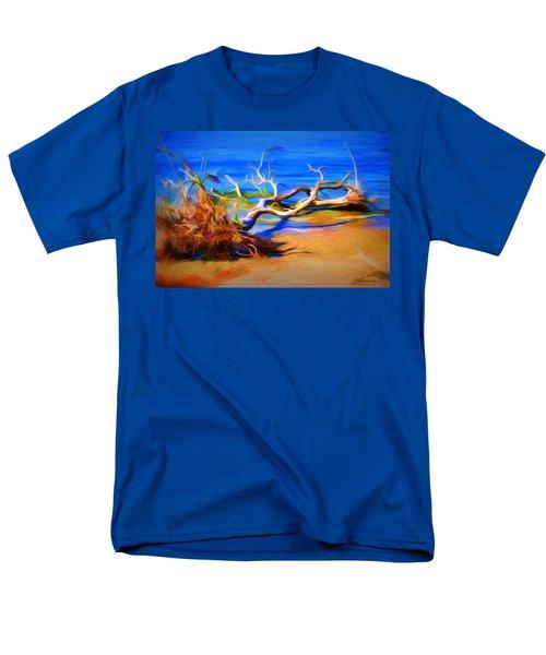 Driftwood Men's T-Shirt  (Regular Fit) by Ludwig Keck